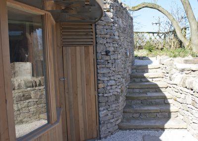 Monyash stone stairs