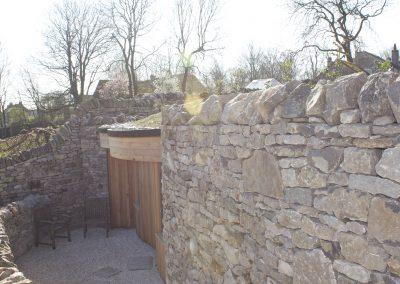 Monyash stone work